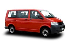 Passenger Van Royalty Free Stock Photos