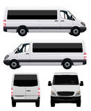 Passenger Van - Minibus Royalty Free Stock Image
