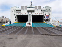 Passenger and vehicle ferry Stock Photography