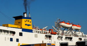 Passenger And Vehicle Ferry Royalty Free Stock Image