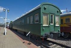 Passenger wagon-salon Vladikavkaz type Royalty Free Stock Photography