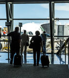 Passenger wait for boarding at Stock Image