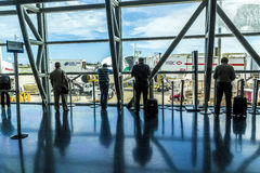Passenger wait for boarding at Royalty Free Stock Image