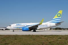 passengerairplane Колумбии aires стоковые изображения rf