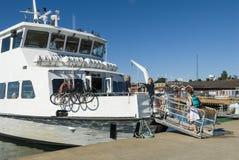 Passengerboat Nynashamn archipelago town Stock Photography