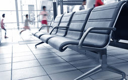 Passengers in airport Stock Photography