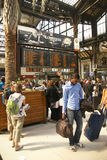 Passengers arrive at the Gare de Lyon Royalty Free Stock Photography