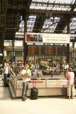 Passengers arrive  Gare de Lyon Royalty Free Stock Photography