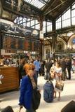 Passengers arrive  Gare de Lyon Stock Photo