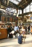 Passengers arrive  Gare de Lyon Stock Photos