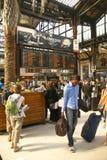 Passengers arrive  Gare de Lyon Stock Image