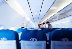 Passengers in the cabin Royalty Free Stock Images