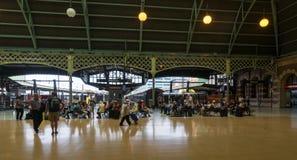 Passengers Cenrtal station Sydney Australia Stock Image