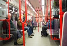 Prague Metro. Czech Republic Stock Image