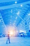Passengers motion blur Stock Images