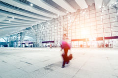 Passengers motion blur Stock Photos