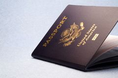 Passeport Photo stock