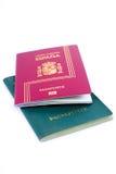 Passeport photos libres de droits