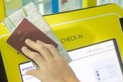passeport image stock