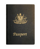 Passeport australien Photos stock