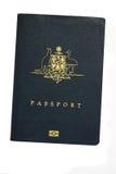 Passeport australien Photographie stock libre de droits