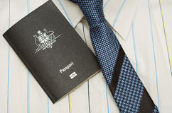 Passeport australien d'affaires Image stock