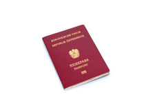 Passeport autrichien Photographie stock libre de droits