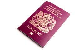 Passeport biométrique images libres de droits