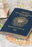 Passeport brésilien Image stock