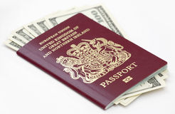 Passeport britannique Images libres de droits