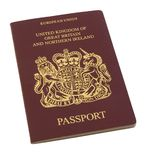 Passeport britannique Photographie stock
