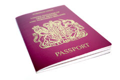 Passeport BRITANNIQUE Photo stock
