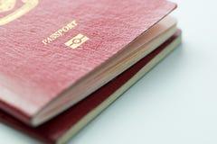Passeport de la Malaisie avec la puce d'identification Image stock