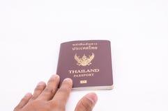 Passeport de la Thaïlande images stock