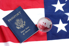 Passeport des USA Images stock