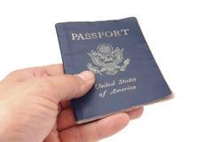 Passeport des USA Images libres de droits