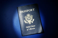 Passeport des USA photographie stock
