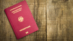 Passeport européen Photos stock