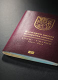 Passeport finlandais Photos stock