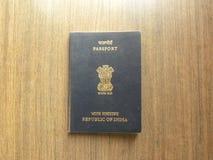 Passeport indien photos stock