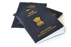 Passeport indien Photo stock