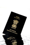 Passeport indien photographie stock
