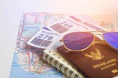 Passeport pour le voyage Photo stock