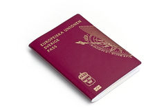 Passeport suédois Photos stock