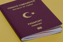 Passeport turc Images stock