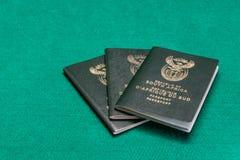 Passeports sud-africains photos libres de droits