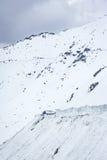 Passerande till den Nubra dalen, Ladakh Royaltyfri Bild