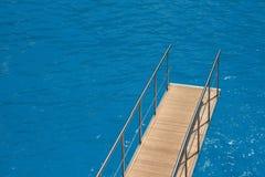 passerel statek wodden Zdjęcie Royalty Free