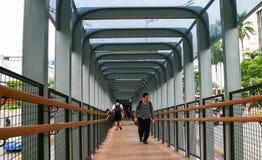 Passerella della rotonda di Senayan fotografie stock libere da diritti