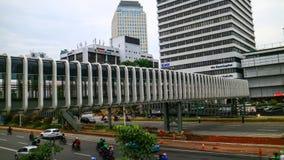 Passerella della rotonda di Senayan immagini stock libere da diritti